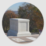 Tomb of the Unknown Soldier Arlington Round Sticker