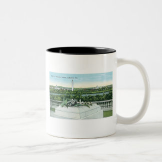 Tomb of the Unknown Soldier, Arlington, Virginia Two-Tone Coffee Mug