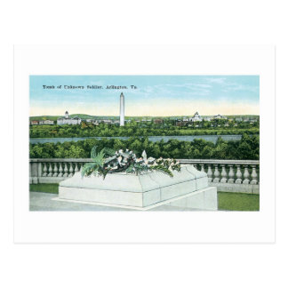 Tomb of the Unknown Soldier, Arlington, Virginia Postcard