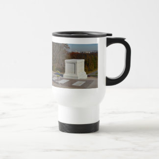 Tomb of the Unknown Soldier, Arlington Yellow Wrea 15 Oz Stainless Steel Travel Mug