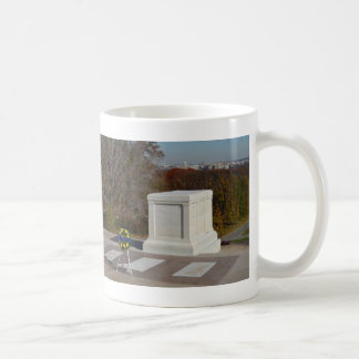 Tomb of the Unknown Soldier, Arlington Yellow Wrea Classic White Coffee Mug