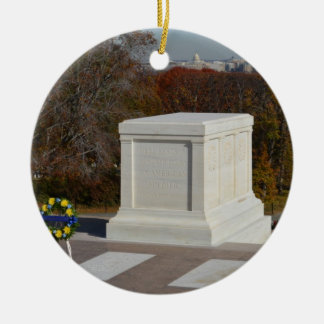 Tomb of the Unknown Soldier, Arlington Yellow Wrea Ornaments