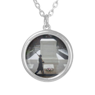 Tomb of the unknown soldier custom necklace