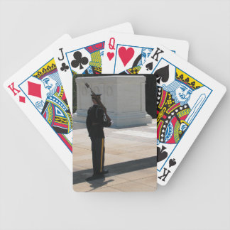Tomb of the Unknown Soldier Bicycle Playing Cards