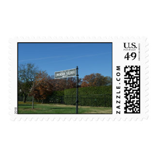 Tomb of the Unknown Street Sign Postage