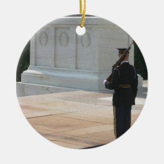 Tomb of the Unknowns Ceramic Ornament