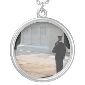 Tomb of the Unknowns Personalized Necklace