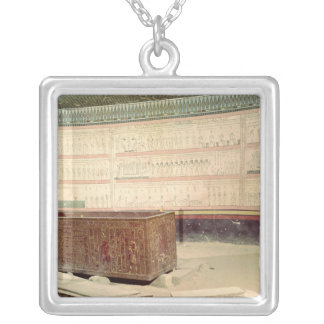 Tomb of Tuthmosis III Silver Plated Necklace