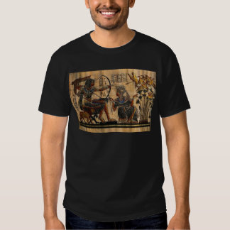 Tomb Painting on Papyrus Tee Shirt