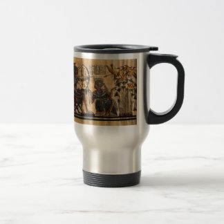 Tomb Painting on Papyrus Travel Mug