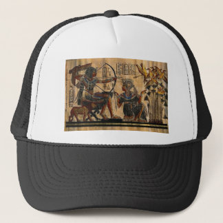 Tomb Painting on Papyrus Trucker Hat