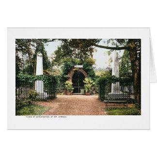 Tomb President George Washington  Mt. Vernon Card