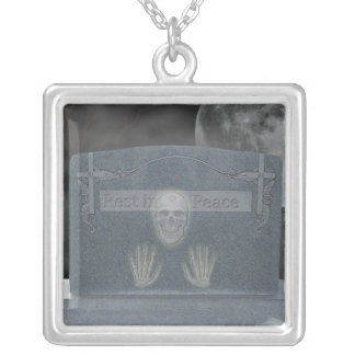 Tomb Stone Necklace