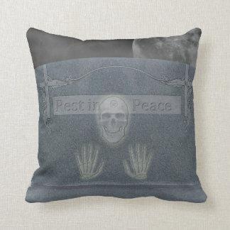 Tomb Stone Reversible Pillow