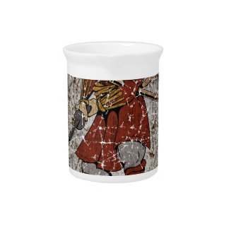 Tomb Stone Scary King Drink Pitcher