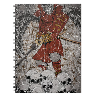 Tomb Stone Scary King Notebook
