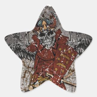 Tomb Stone Scary King Star Sticker