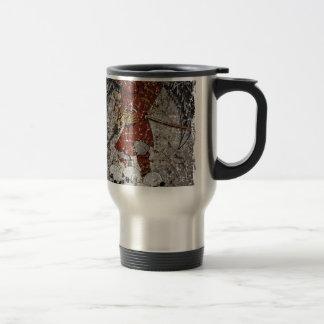 Tomb Stone Scary King Travel Mug