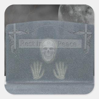 Tomb Stone Stickers