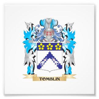 Tomblin Coat of Arms - Family Crest Photo Art
