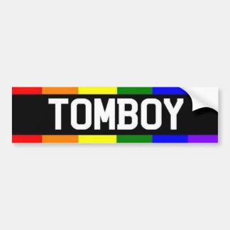 Tomboy Car Bumper Sticker