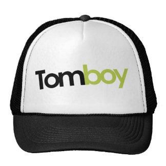 Tomboy Magazine Logo Trucker Cap Mesh Hats