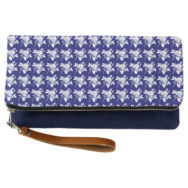 Aztec Themed TOMBOY_Mid-Night-Rose's-Navy--Multi-Colors Clutch