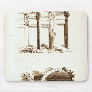 Tombs at Castel d'Asso Mouse Pad
