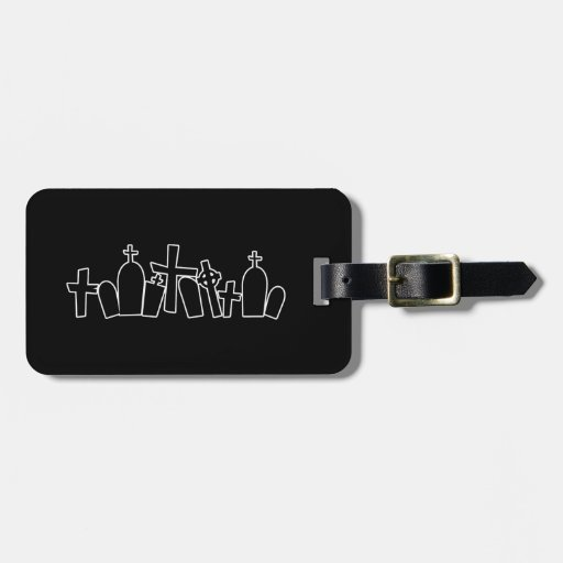 Tombs figure tag for bags