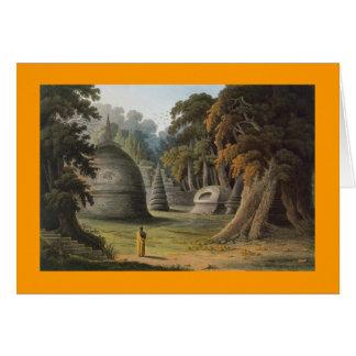 Tombs of Kandyan Kings Greeting Card