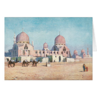Tombs of the Caliphs, Eqypt Card
