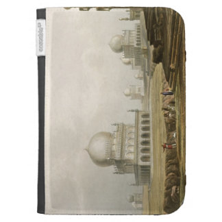 Tombs of the Kings of Golconda in 1813, from Volum Kindle Case