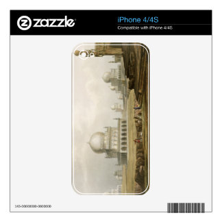 Tombs of the Kings of Golconda in 1813, from Volum Decal For iPhone 4