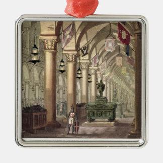 Tombs of the Knights Templar, c.1820-39 (aquatint) Metal Ornament