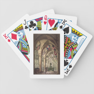 Tombs of the Knights Templar, c.1820-39 (aquatint) Bicycle Playing Cards