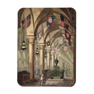 Tombs of the Knights Templar, c.1820-39 (aquatint) Rectangular Photo Magnet