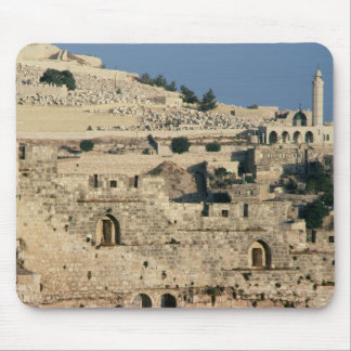 Tombs on the side of the Mount of Olives Mouse Pad