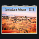 "Tombstone Arizona 2018 Western Calendar<br><div class=""desc"">We live in Tombstone AZ. Our website, TombstoneTravelTips.com helps people discover our town. We&#39;ve created a 2018 Tombstone Calendar featuring Tombstone&#39;s events and Tombstone attractions. It also has a Western style for those cowboys and cowgirls out there, and for those who love Western history and our historic town of Tombstone...</div>"
