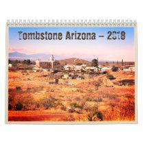Tombstone Arizona 2018 Western Calendar