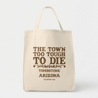 Tombstone Arizona Grocery Tote Bag