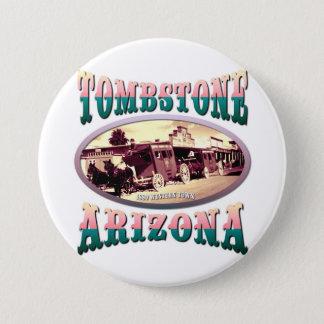 Tombstone Arizona Button
