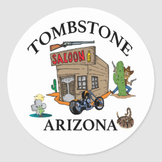 Tombstone, Arizona Classic Round Sticker