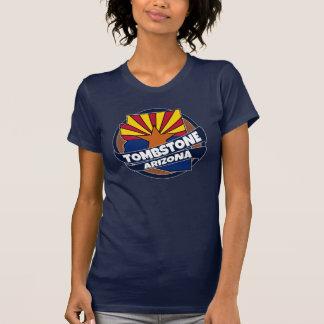 Tombstone Arizona flag burst tshirt