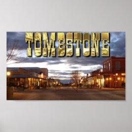 Tombstone AZ Poster