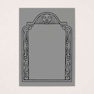 Tombstone Business Card