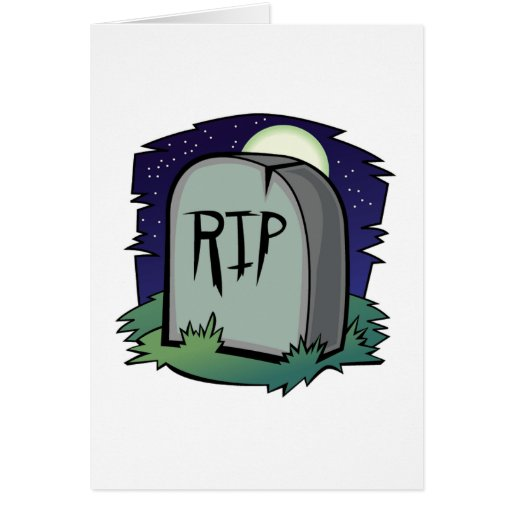 Tombstone Card