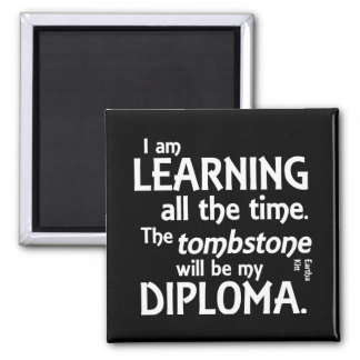 Tombstone Diploma Magnet