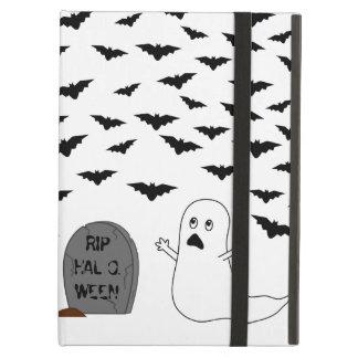 Tombstone Ghost Bats - Halloween iPad Cases