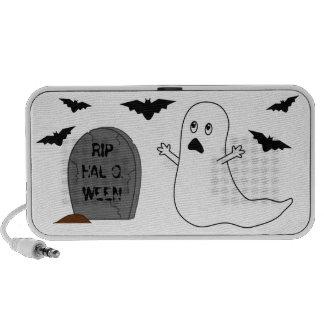 Tombstone, Ghost & Bats - Halloween iPod Speakers