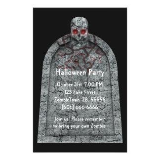 Tombstone - Halloween Flyer